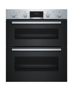 Bosch NBS113BR0B Serie 2 Built-Under Double Oven