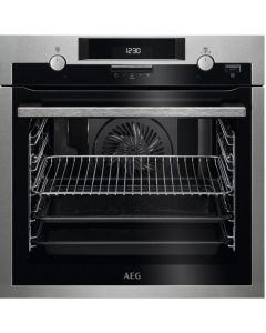 AEG BPS551220M built in electric single oven