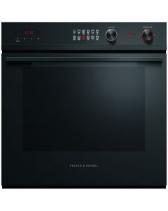 Fisher & Paykel OB60SD11PB1 Single Built in Electric Oven - Black