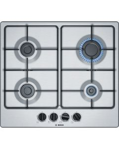 Bosch PGP6B5B80 Serie 2 Hob Brushed steel