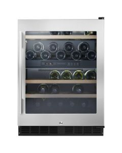 Fisher & Paykel RS60RDWX1 Undercounter Dual Zone Wine Cooler