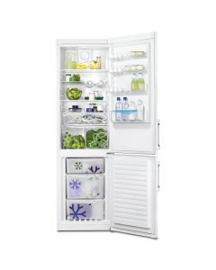 Zanussi ZRB38426WA A++ Frost Free 376L Fridge Freezer in White