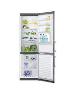 Zanussi ZRB38426XA A++ Frost Free 376L Fridge Freezers in Stainless Steel