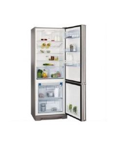 AEG S94400CTX0 195cm x 70cm Stainless A+ Rated Frost Free ProFreshPlus Fridge Freezer with on-door LCD