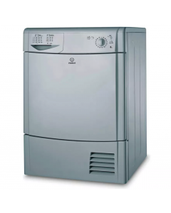 Indesit IDC 8T3 BS Front-Loading Electric Dryer - 8 kg - Silver IDC8T3BS