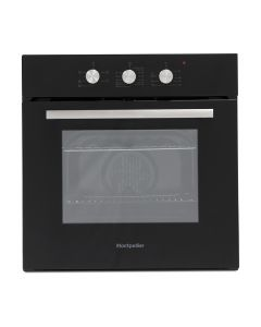 Montpellier Electric Oven and Ceramic HobPack in Black - Colour Box