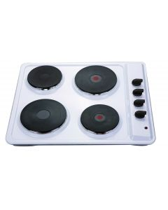 Montpellier SP601W Solid Plate Hob