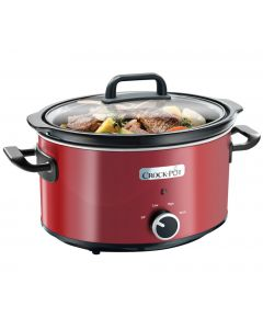 Crock Pot 3.5l Slow Cooker in Red