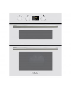hotpoint DU2540WH built under electric double oven