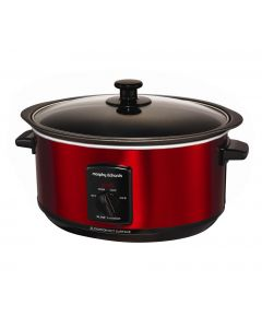 Morphy Richards Sear and Stew Slow Cooker 48702 Red