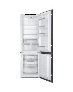 Smeg UKC7280NLD2P1 60cm Integrated In Column 70-30 Frost-Free Fridge Freezer A++