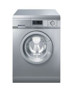 Smeg WMF147X-2 60cm Stainless Steel Freestanding Washing Machine 7kg - A++B rated