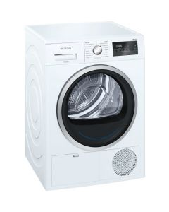 Siemens WT45N201GB White Condenser Tumble Dryers