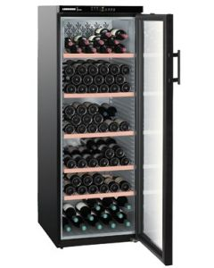Liebherr WTb4212 Vinothek Black Glass Door Single Zone Wine Cooler